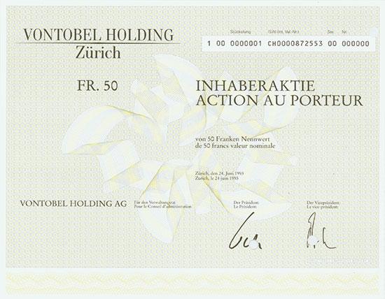 Vontobel Holding AG