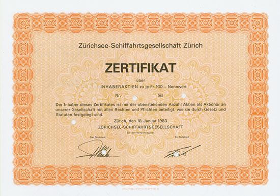 Zürichsee-Schiffahrtsgesellschaft