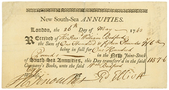 New South-Sea Annuities