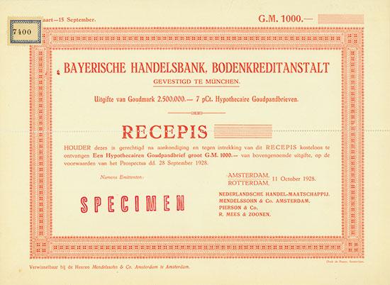 Bayerische Handelsbank, Bodenkreditanstalt
