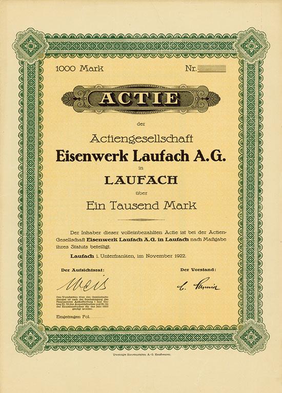 Eisenwerk Laufach AG