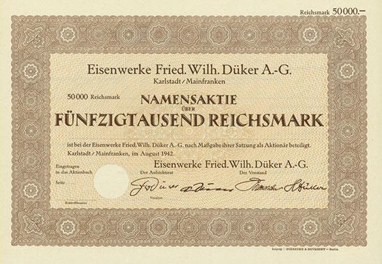 Eisenwerke Fried. Wilh. Düker AG