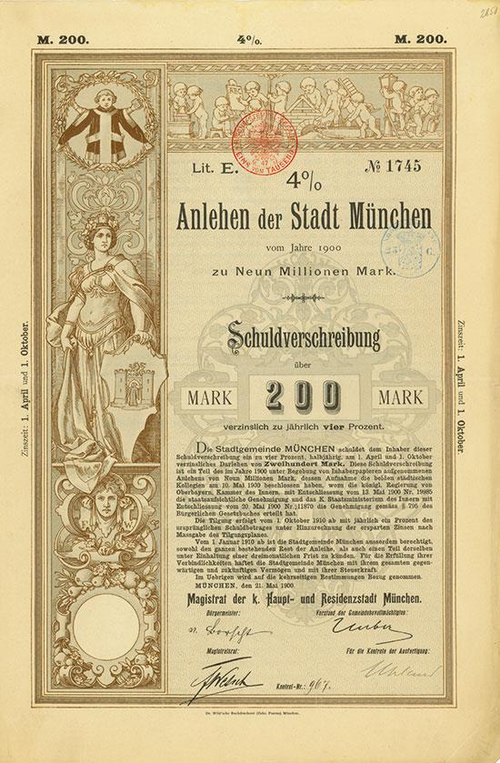 Kgl. Bayer. Haupt- und Residenzstadt München