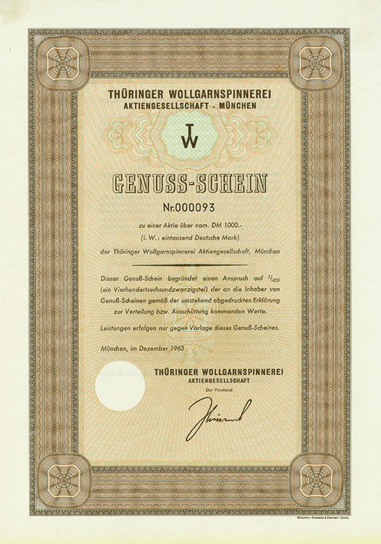 Thüringer Wollgarnspinnerei AG