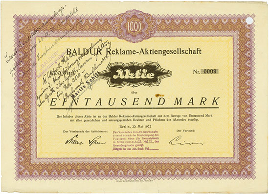 Baldur Reklame-AG