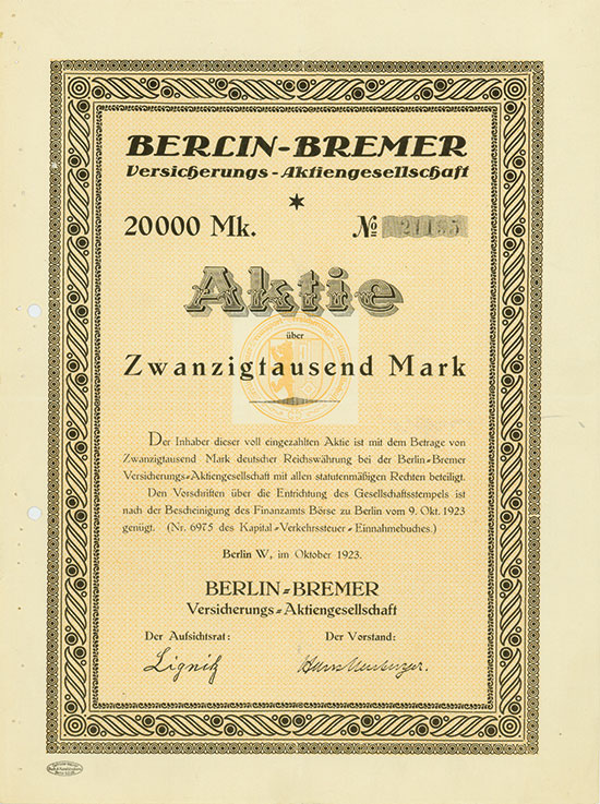 Berlin-Bremer Versicherungs-AG