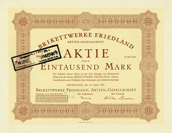 Brikettwerke Friedland AG