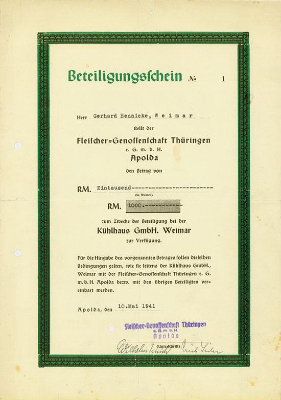 Fleischer-Genossenschaft Thüringen eGmbH
