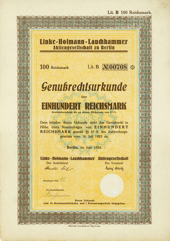 Linke-Hofmann-Lauchhammer AG