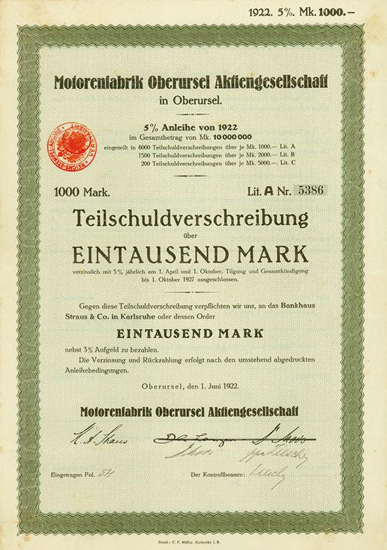 Motorenfabrik Oberursel AG