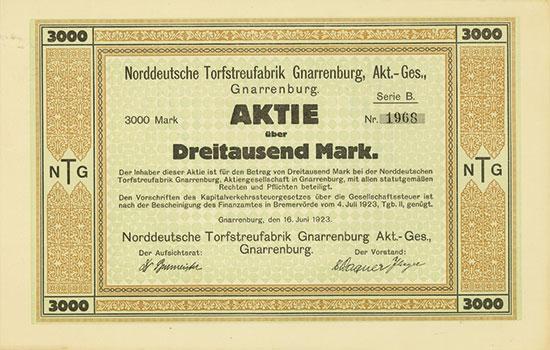 Norddeutsche Torfstreufabrik Gnarrenburg AG
