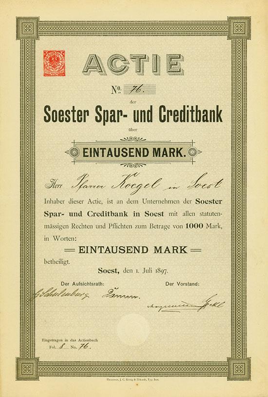 Soester Spar- und Creditbank