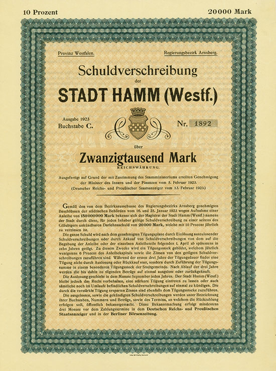 Stadt Hamm (Westf.)