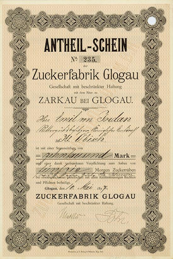 Zuckerfabrik Glogau GmbH