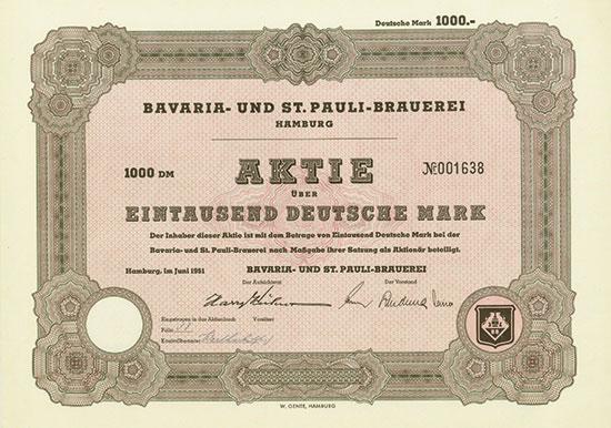 Bavaria- und St. Pauli-Brauerei