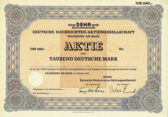 DENA Deutsche Nachrichten-AG
