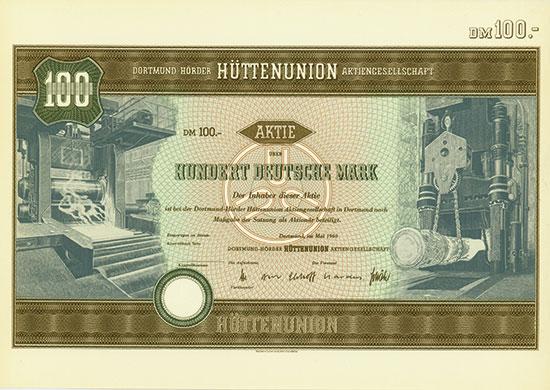 Dortmund-Hörder Hüttenunion AG