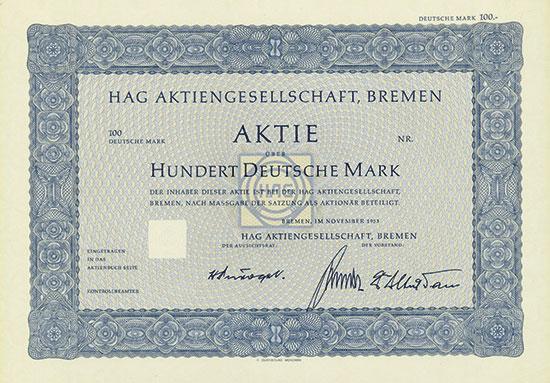 HAG AG