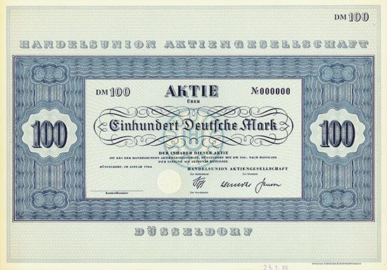 Handelsunion AG