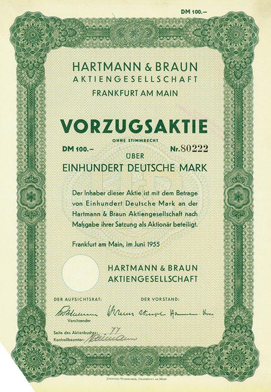 Hartmann & Braun AG