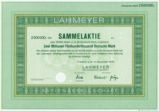 Lahmeyer AG