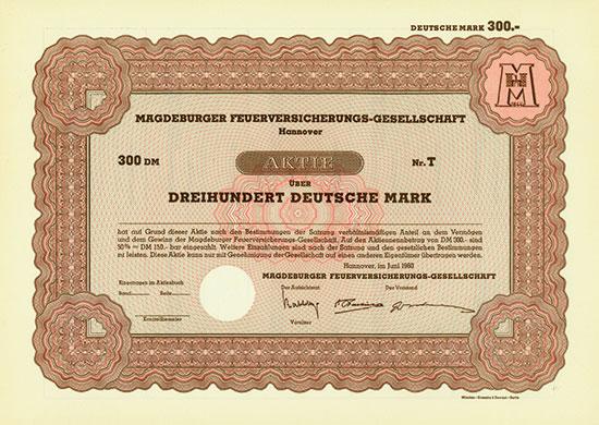 Magdeburger Feuerversicherungs-Gesellschaft