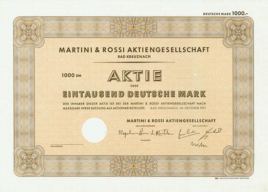 Martini & Rossi AG