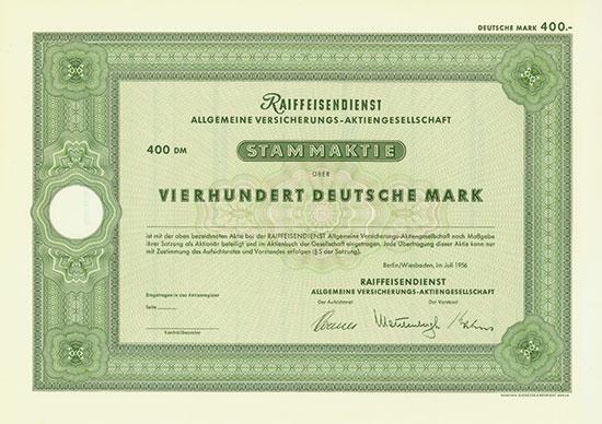 Raiffeisendienst Allgemeine Versicherungs-AG