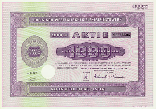 Rheinisch-Westfälisches Elektrizitätswerk AG