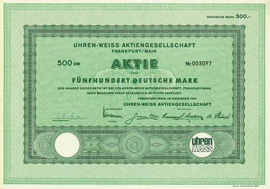 Uhren-Weiss AG