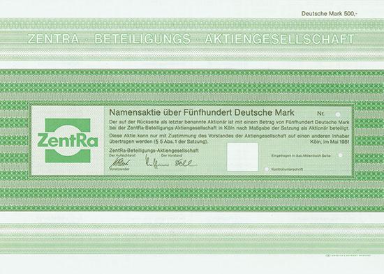 ZentRa-Beteiligungs-AG