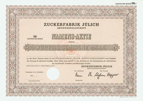 Zuckerfabrik Jülich AG