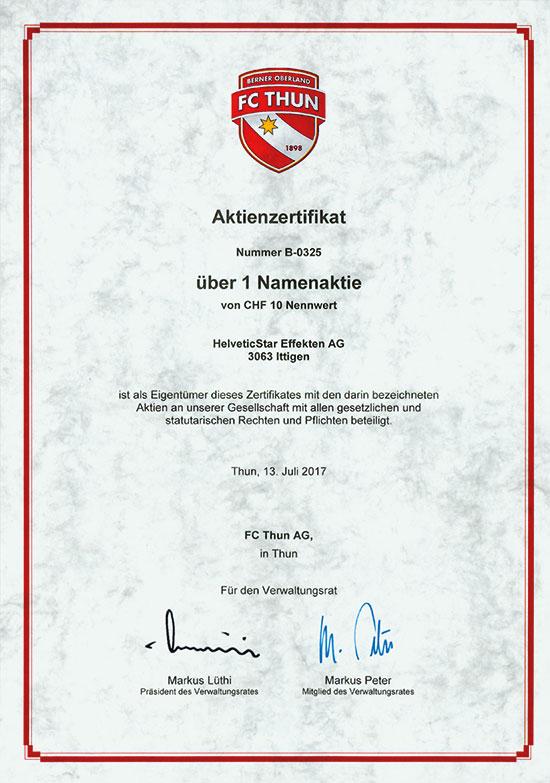 FC Thun AG