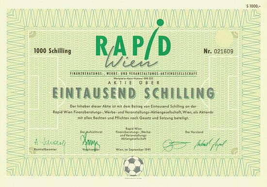 Rapid Wien Finanzberatungs-, Werbe- und Veranstaltungs-AG