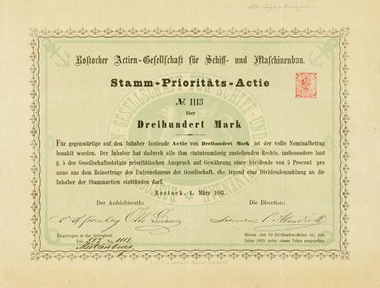 Rostocker Actien-Gesellschaft für Schiff- und Maschinenbau