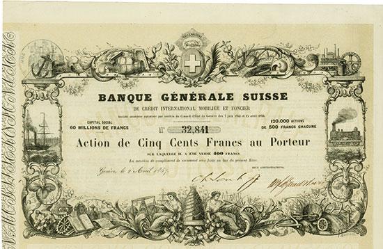 Banque Générale Suisse de Crédit International Mobilier et Foncier