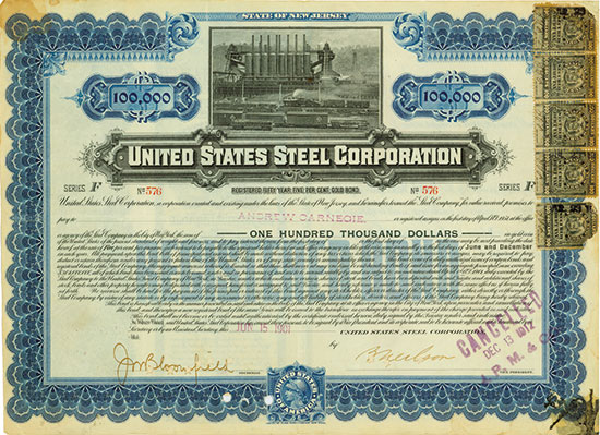 United States Steel Corporation [3 Stück]
