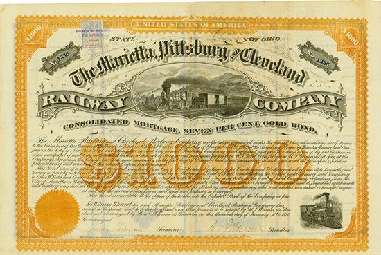 Marietta, Pittsburgh and Cleveland Railway Company