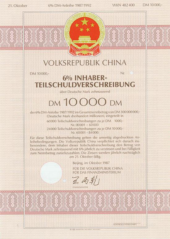Volksrepublik China