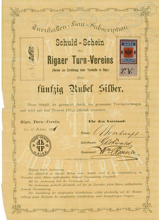 Rigaer Turn-Verein (Verein zur Errichtung einer Turnhalle in Riga)