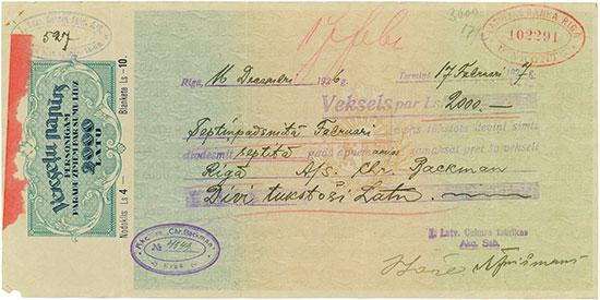 Akc Sab., Chr. Backmann