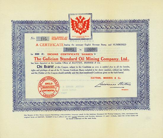 Galician Standard Oil Mining Company, Ltd.