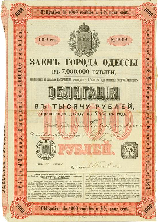 Ville d'Odessa