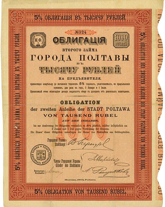 Stadt Poltawa