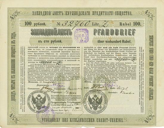 Kurländischer Credit-Verein