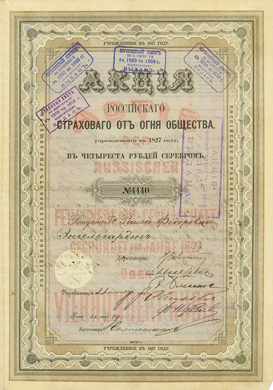 Russische Feuerversicherungs-Gesellschaft