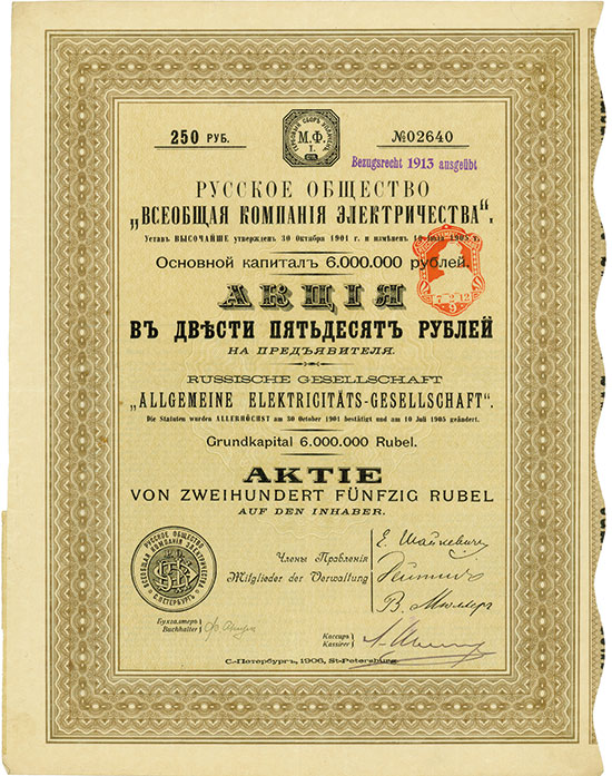 Russische Gesellschaft