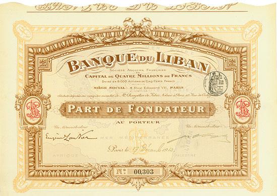 Banque du Liban Société Anonyme