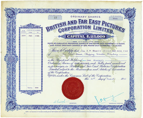 British and Far East Pictures Corporation Limited