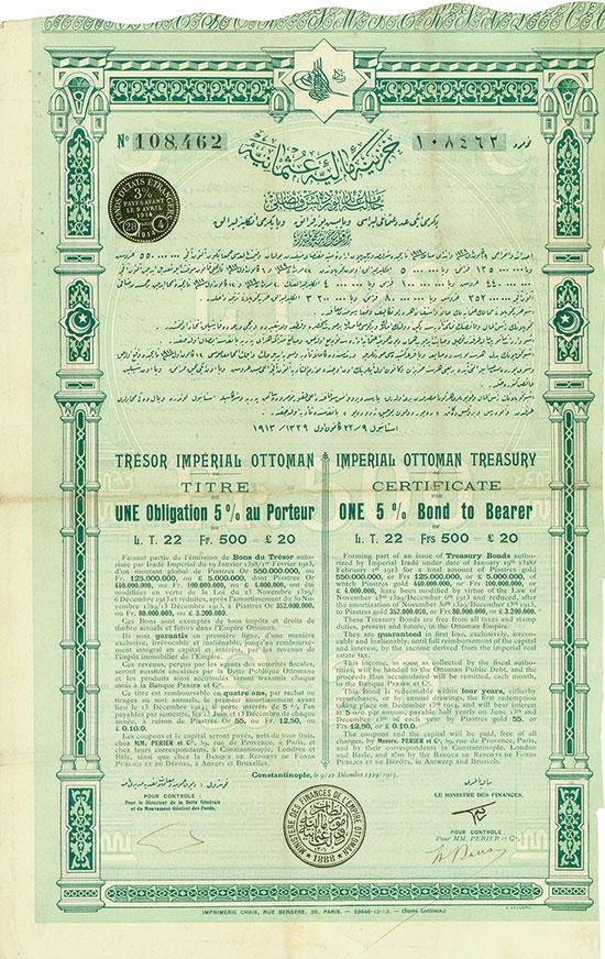 Imperial Ottoman Treasury